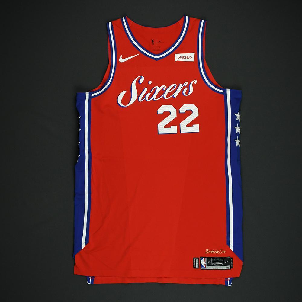 Richaun Holmes - Philadelphia 76ers - NBA Christmas Day '17 'Statement' Game-Worn Jersey - Dressed, Did Not Play