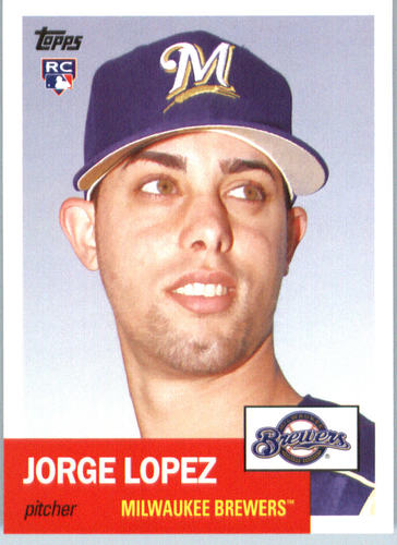 Photo of 2016 Topps Archives #47 Jorge Lopez RC