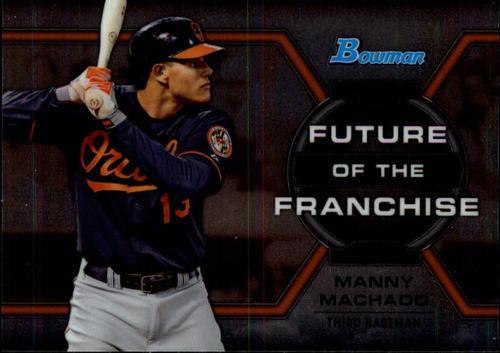 Photo of 2013 Bowman Draft Future of the Franchise #MM Manny Machado