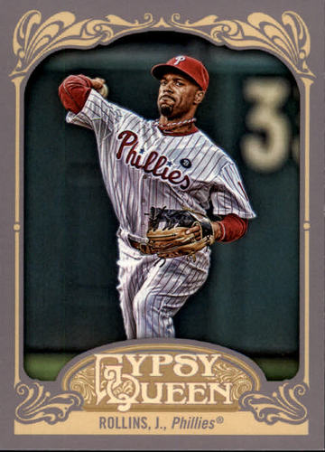 Photo of 2012 Topps Gypsy Queen #171 Jimmy Rollins