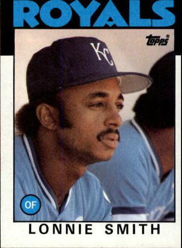 Photo of 1986 Topps #617 Lonnie Smith