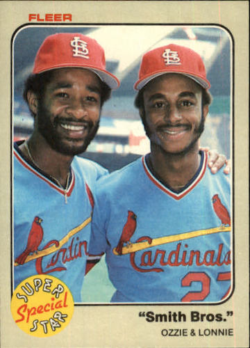 Photo of 1983 Fleer #636 Ozzie Smith/Lonnie Smith