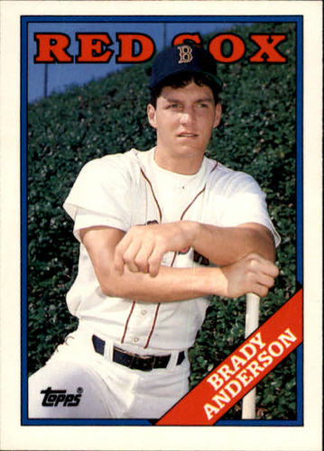 Photo of 1988 Topps Traded #5T Brady Anderson XRC