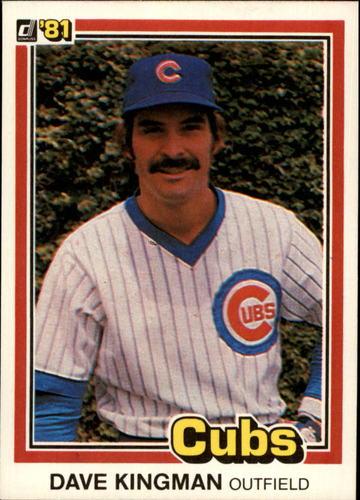 Photo of 1981 Donruss #553 Dave Kingman