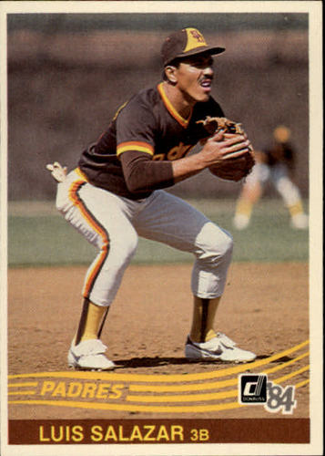Photo of 1984 Donruss #356 Luis Salazar