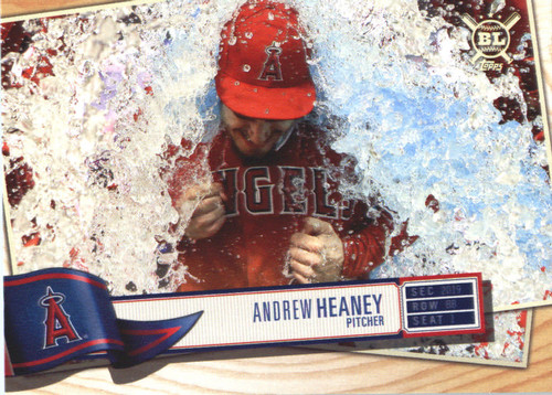 Photo of 2019 Topps Big League #81 Andrew Heaney