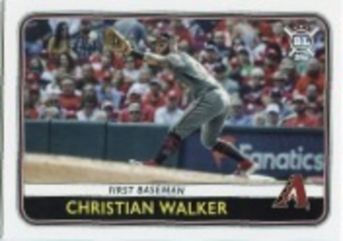 Photo of 2020 Topps Big League #152 Christian Walker