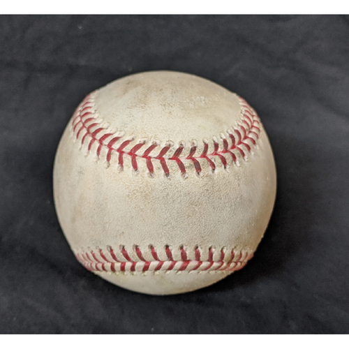 Photo of Game-Used Ball 8/7/20 Giants @ Dodgers: Pitcher Joe Kelly; Batter: Wilmer Flores (Double)
