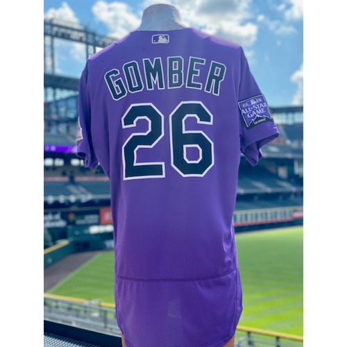 Photo of 2021 Game-Used Austin Gomber Jersey - 2 Games, 14 Innings Pitched