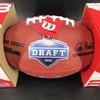 NFL - Patriots Mac Jones Signed Authentic Football with 2021 Draft Logo
