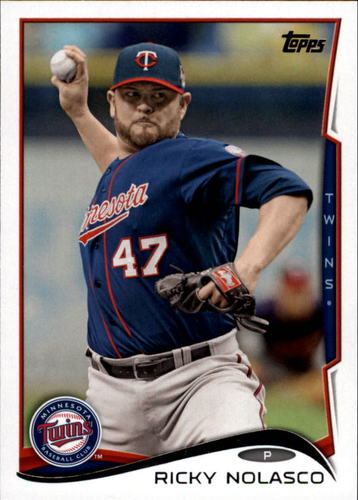 Photo of 2014 Topps Update #US319A Ricky Nolasco