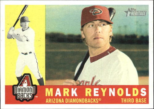 Photo of 2009 Topps Heritage #231 Mark Reynolds