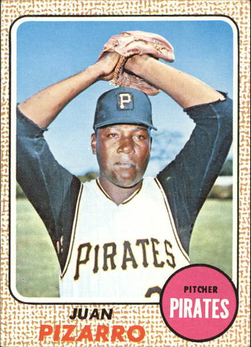 Photo of 1968 Topps #19 Juan Pizarro