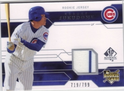 Photo of 2008 SP Authentic #143 Kosuke Fukudome Jsy/799 RC