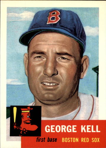 Photo of 1991 Topps Archives 1953 #138 George Kell