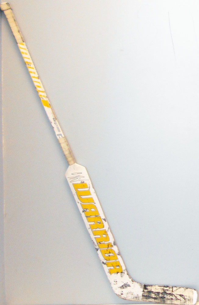 #1 CaseyDeSmith Game Used Stick - Autographed - Pittsburgh Penguins