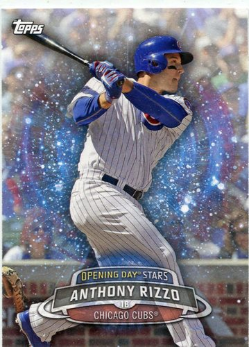 Photo of 2017 Topps Opening Day Opening Day Stars #ODS6 Anthony Rizzo