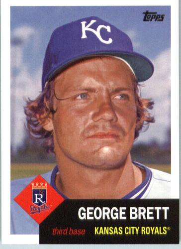 Photo of 2016 Topps Archives #62 George Brett