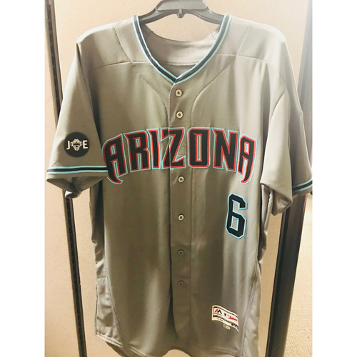Photo of 2017 Team-Issued David Peralta Jersey