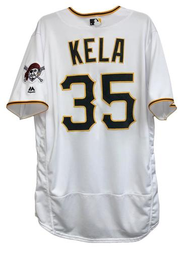 Photo of Keone Kela 2018 Game-Used Jersey - 1.0 IP, 1 BB, 1 SO
