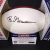 NFL - PANTHERS RASHAAN GAULDEN SIGNED PANEL BALL