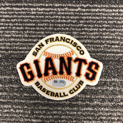 Photo of Team Issued Patch - Cream San Francisco Giants Logo Patch