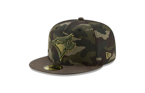 Toronto Blue Jays Sueded Up Camo Cap by New Era