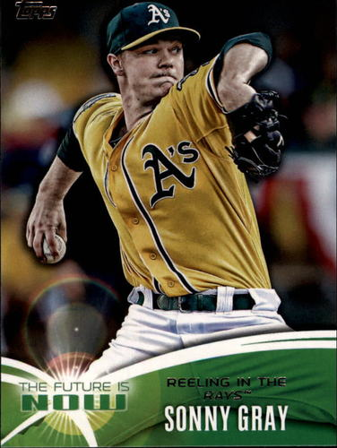 Photo of 2014 Topps The Future is Now #FN46 Sonny Gray