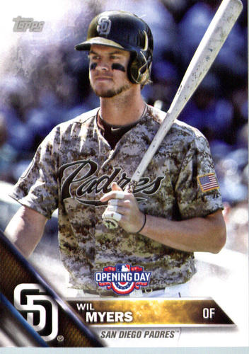 Photo of 2016 Topps Opening Day #OD120A Wil Myers