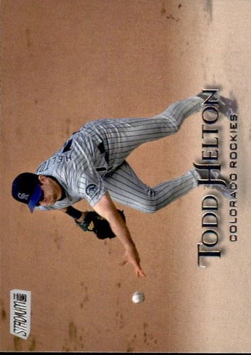 Photo of 2019 Stadium Club #286 Todd Helton