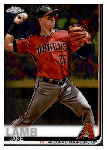 Photo of 2019 Topps Chrome #116 Jake Lamb
