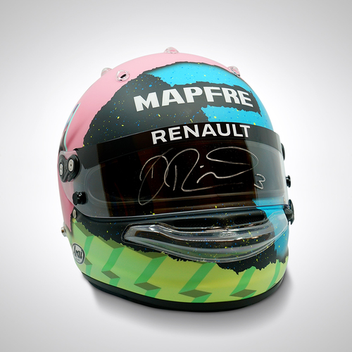 Photo of Daniel Ricciardo 2019 Replica Signed Helmet