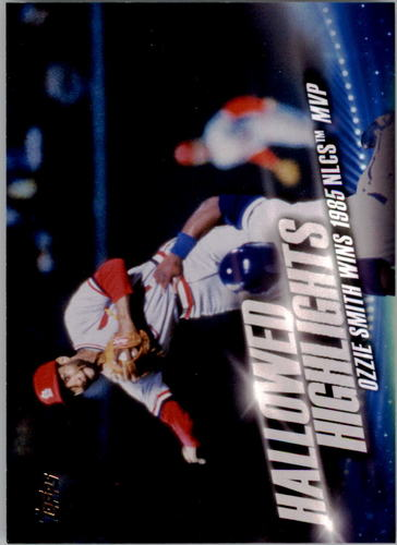 Photo of 2016 Topps Hallowed Highlights #HH2 Ozzie Smith