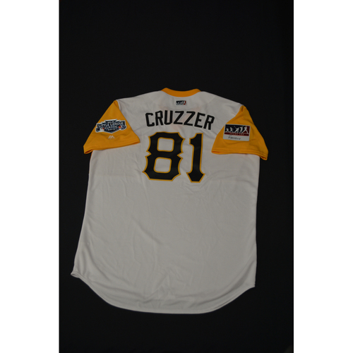"Photo of 2019 Little League Classic - Game Used Jersey - Jacob ""Cruzzer"" Cruz,  Chicago Cubs at Pittsburgh Pirates - 8/18/2019 (Size - 48)"