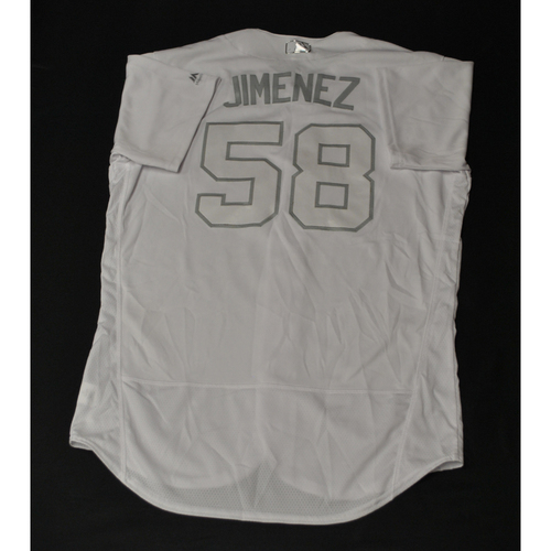 "Photo of Jobel ""JIMENEZ"" Jimenez St. Louis Cardinals Game-Used 2019 Players' Weekend Jersey"
