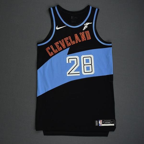 Image of Alfonzo McKinnie - Cleveland Cavaliers - Game-Worn Classic Edition 1994-96 Road Jersey - 2019-20 Season