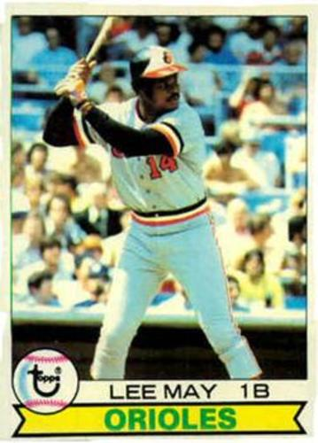 Photo of 1979 Topps #10 Lee May