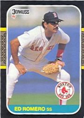 Photo of 1987 Donruss #606 Ed Romero