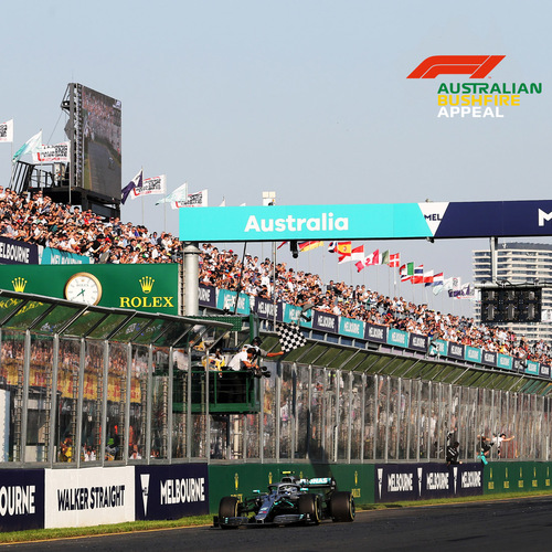 Photo of Wave the Chequered Flag at the 2020 Australian Grand Prix