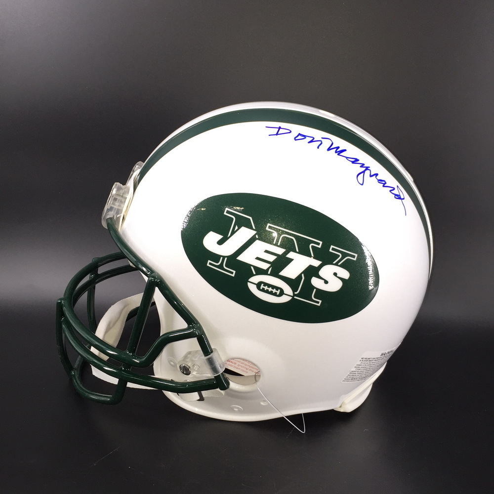 HOF - Jets Don Maynard Signed Proline Helmet