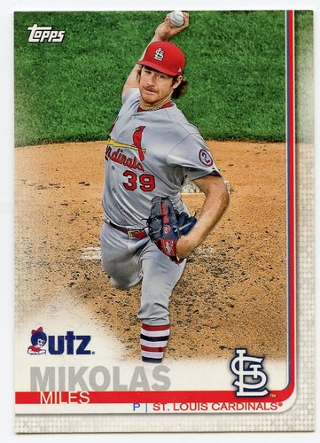 Photo of 2019 Topps Utz #79 Miles Mikolas