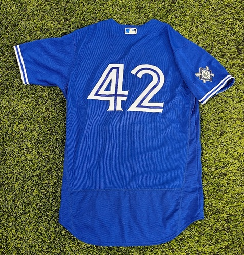 Photo of CHARITY AUCTION: Authenticated Game Used #42 Jersey: Mark Budzinski (Aug 28, 20). Size 44.