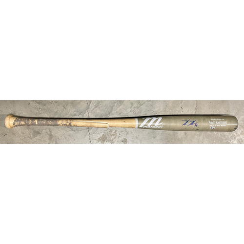 Photo of Rays Baseball Foundation: Game Used Autographed Broken Bat - Kevin Kiermaier - April 24, 2021 v TOR