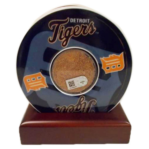 Detroit Tigers Comerica Park Game Used Dirt Coaster Set