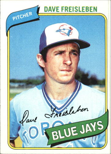 Photo of 1980 Topps #382 Dave Freisleben