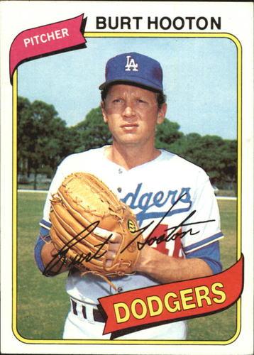 Photo of 1980 Topps #170 Burt Hooton