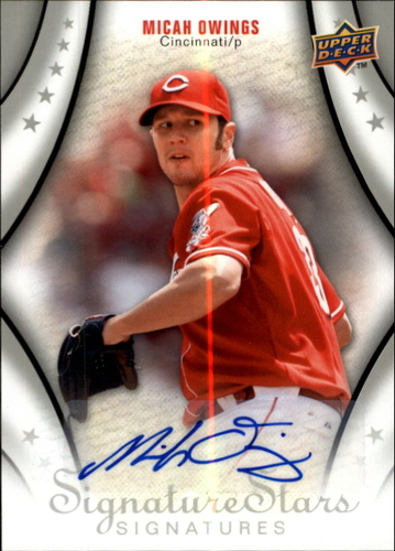 Photo of 2009 Upper Deck Signature Stars #161 Micah Owings AU