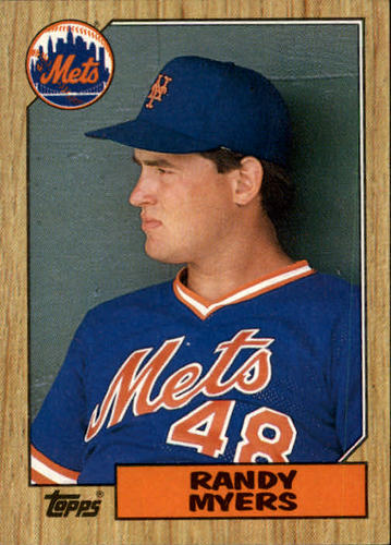 Photo of 1987 Topps #213 Randy Myers RC