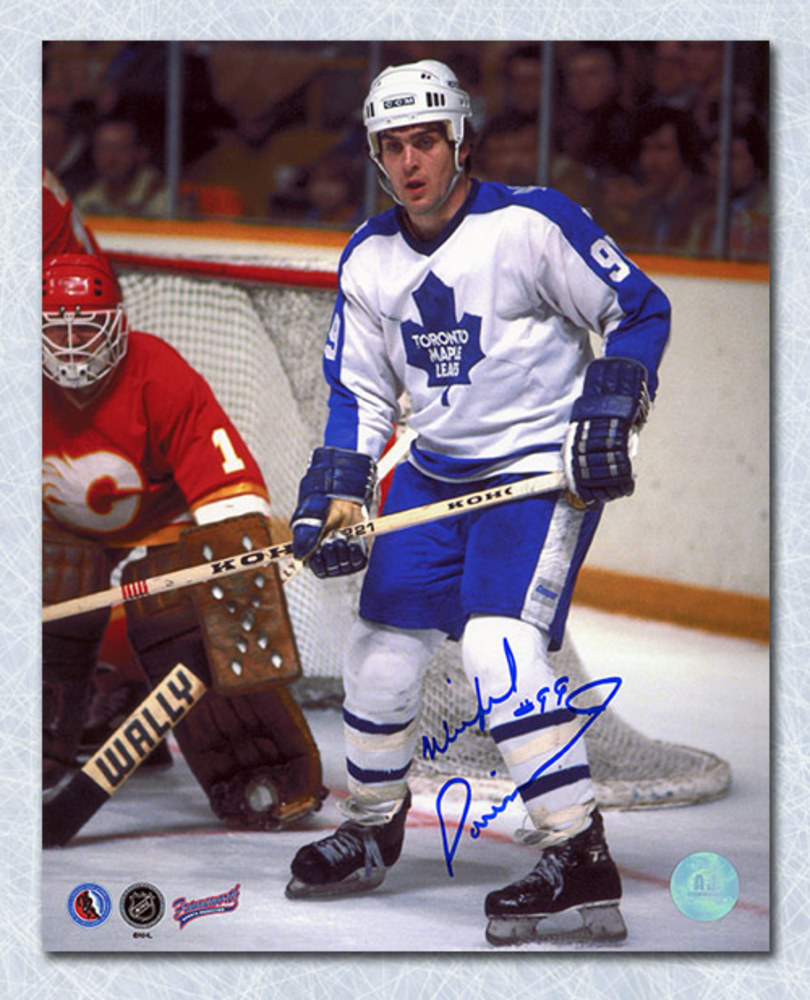Wilf Paiement Toronto Maple Leafs Autographed 8x10 Photo