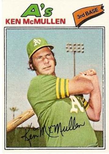 Photo of 1977 Topps #181 Ken McMullen